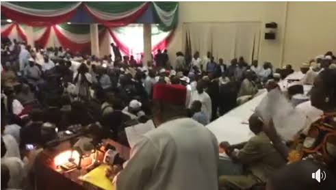 BREAKING: R-APC, PDP, SDP, 31 Other Parties Sign Agreement In Abuja (Photo)