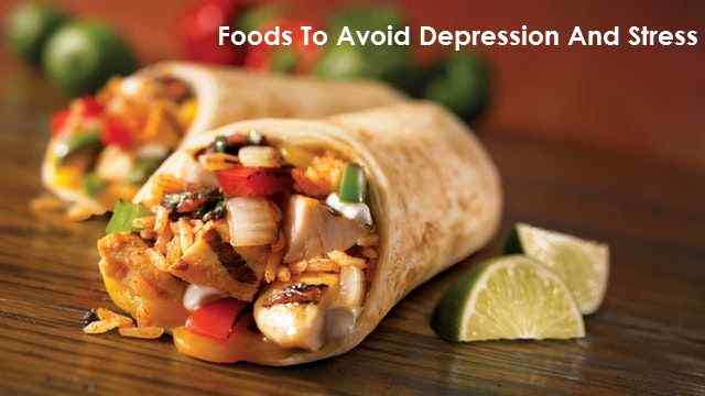 foods that cause depression