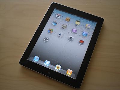 Dấu hiệu mặt kính iPad 2 cần thay
