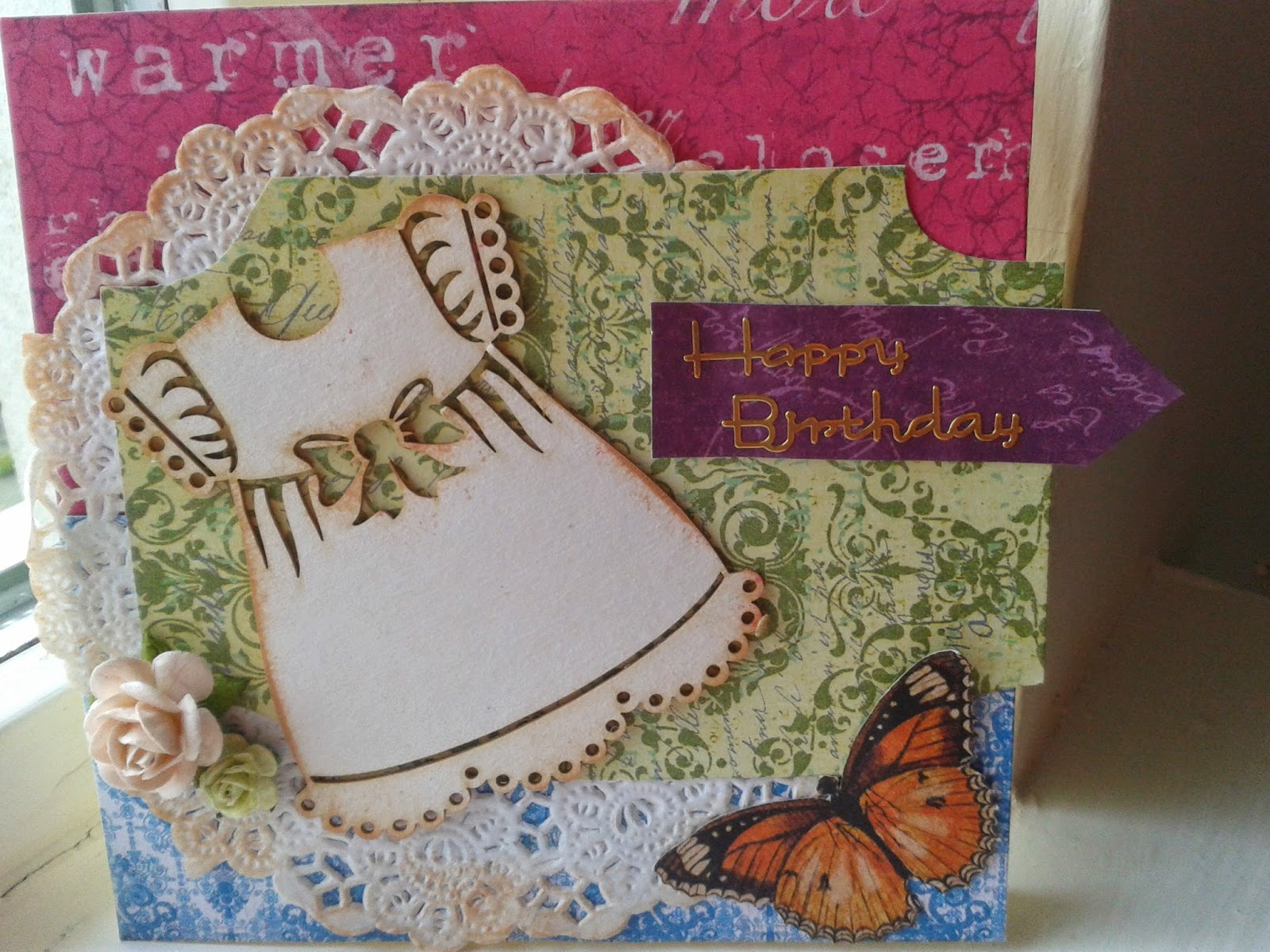 Birthday card for little girl