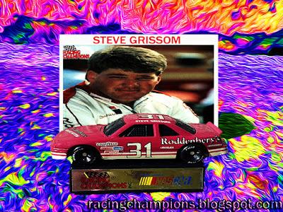Steve Grissom #31 Roddenbery's NASCAR Racing Champions 1/64 diecast blog BGN 1991 1992 Busch Wayne Champion