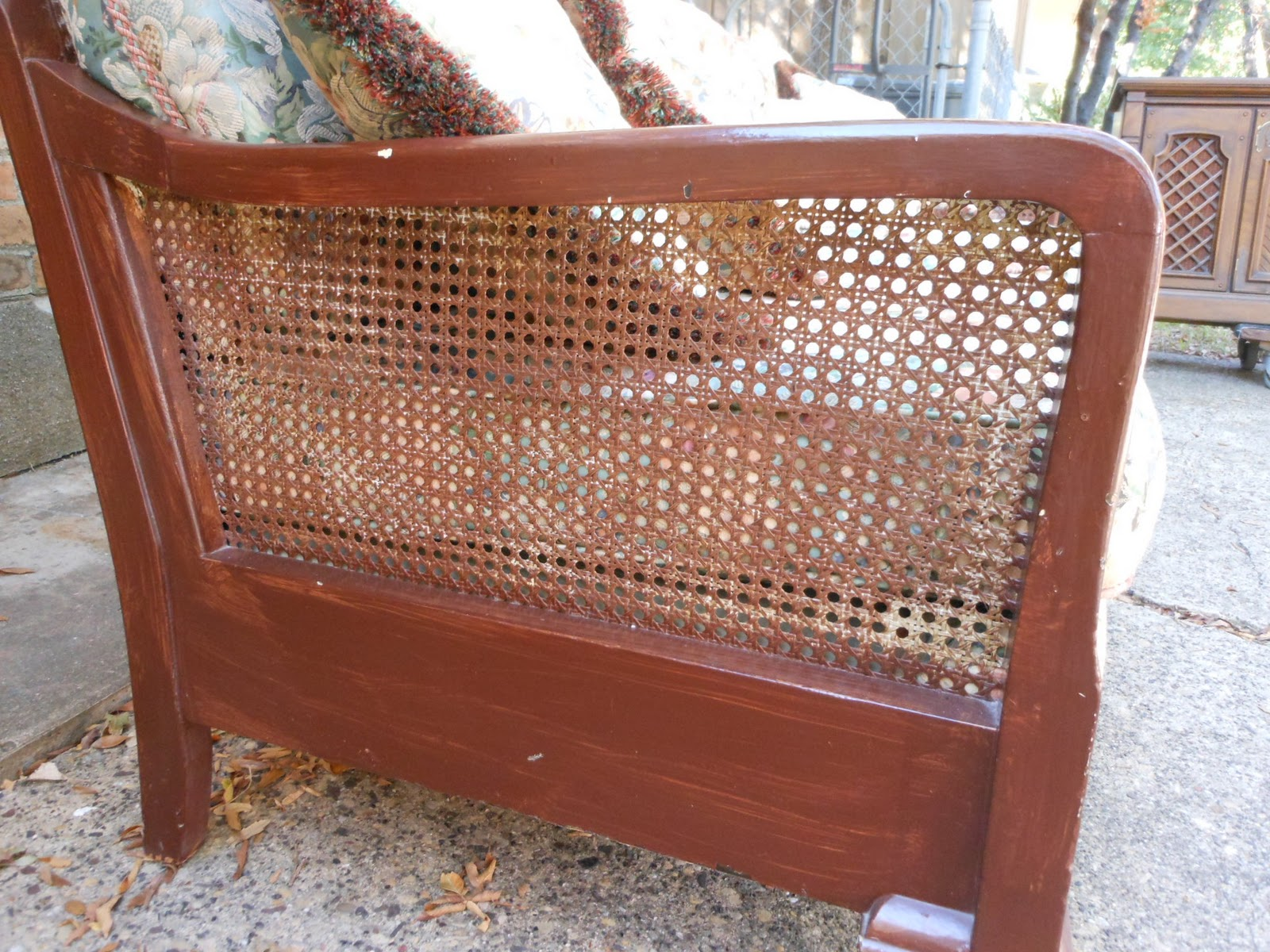 1930 cane back sofa doss fabric microfiber 3 piece sectional antique furniture foter thesofa