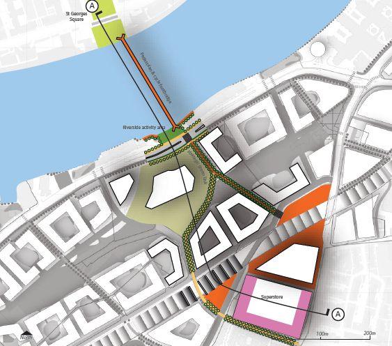 Footbridge Plans: The Happy Pontist: £30m Footbridge Design Competition