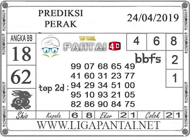 """Prediksi Togel """"PERAK"""" PANTAI4D 24 APRIL 2019"""