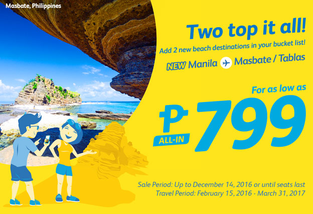 Cebu Pacific Piso Fare Promo 2017