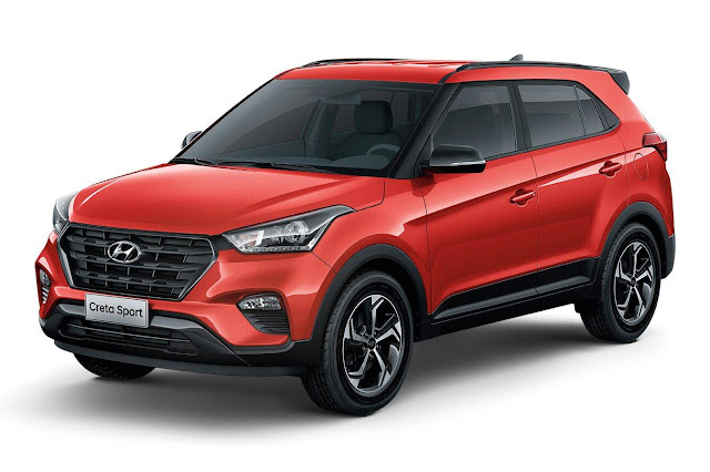 Hyundai creta sport edition india