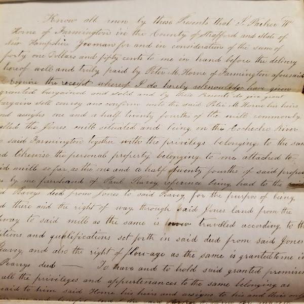 Cache of Old #FarmingtonNH Documents