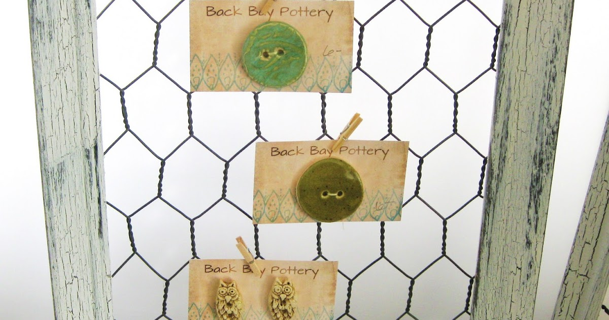 Back Bay Pottery Make A Shabby Chic Chicken Wire Frame