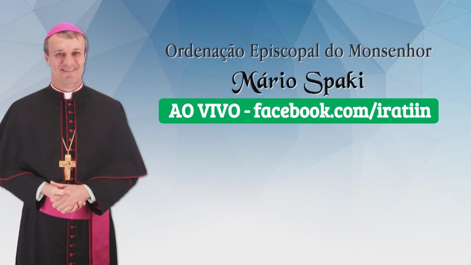 Ordenação Episcopal - Mário Spaki