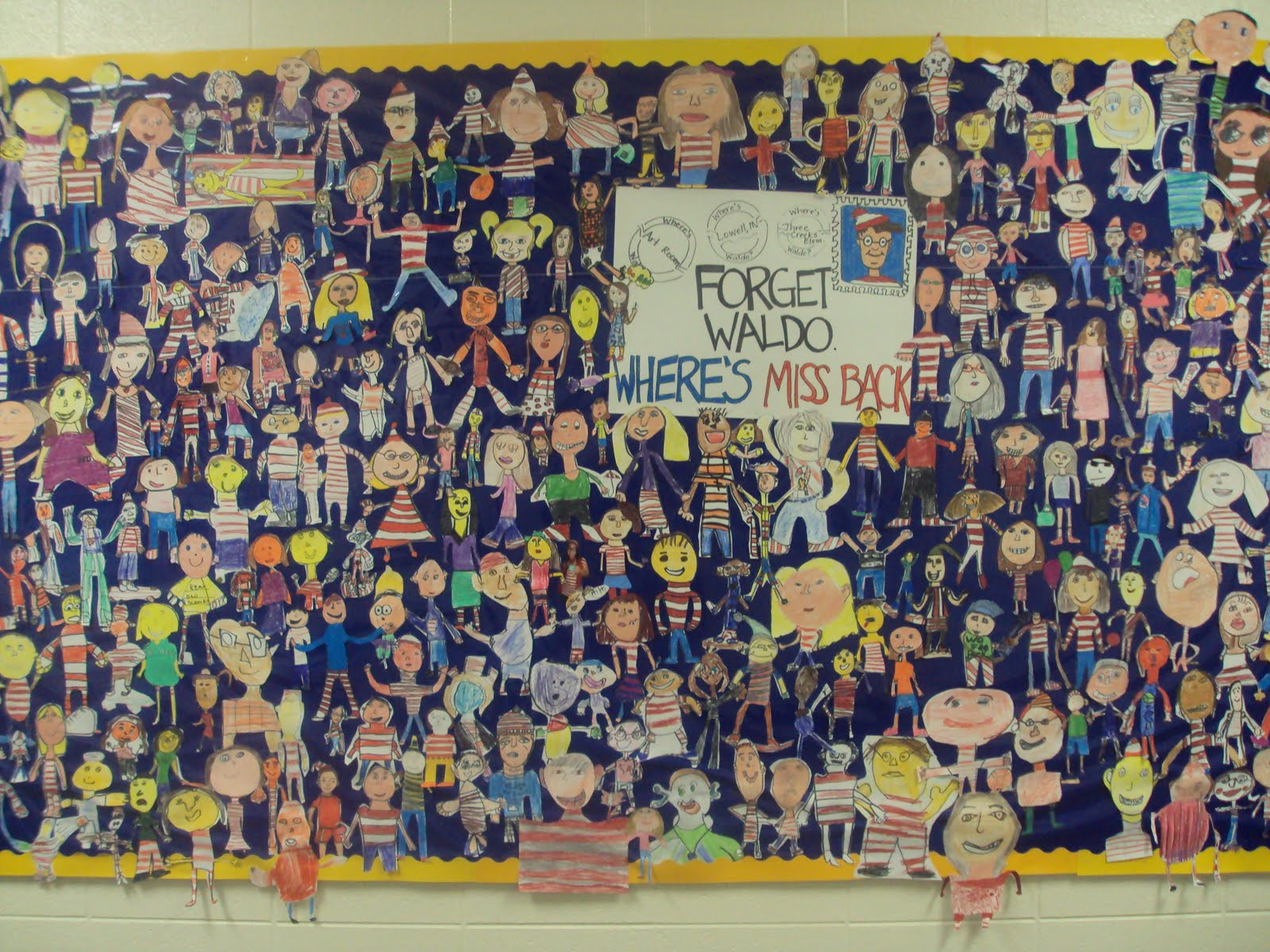 Bulletin Boards To Remember Back To School A Different Take On Waldo