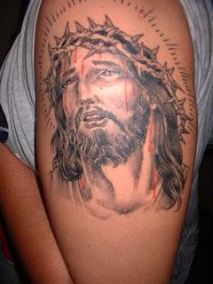 Ja Rule Tattoos : tattoos, Rule:, Latest, Beautiful, Jesus, Tattoos, Pictures