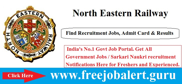 North Eastern Railway Recruitment 2016-17 | Sports | Scouts Guides Quota Candidate age limit is 18 to 32