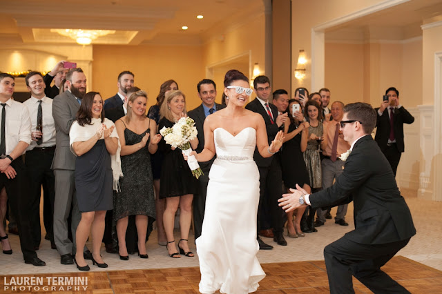 Lauren Termini Photography Cara Jay New Years Eve Wedding Indian Pond Country Club