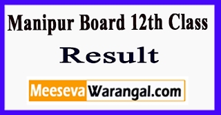 Manipur Board 12th Class Result 2017