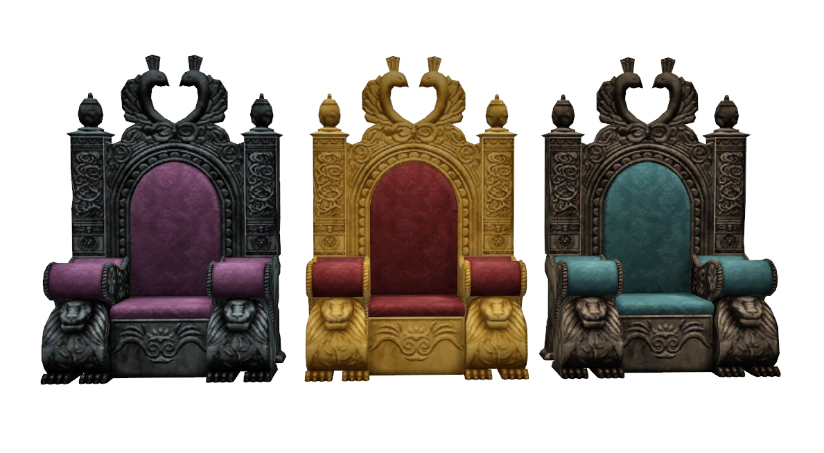 Tsm To Ts4 Medieval Throne History Lover S Sims Blog