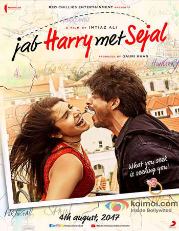 Jab Harry met Sejal 2017 Full Hindi Movie DVDRip Free Download