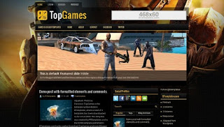 TopGame Responsive Blogger Template