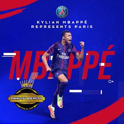 Kylian Mbappe Resmi Berseragam PSG Musim Panas 2017/18