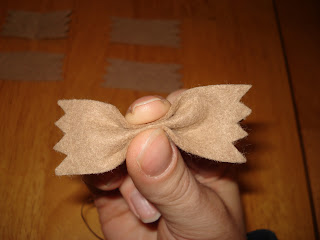 farfalle integral de feltro