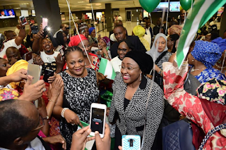 , Aisha Buhari Arrives US, Read What Happened to her, Latest Nigeria News, Daily Devotionals & Celebrity Gossips - Chidispalace