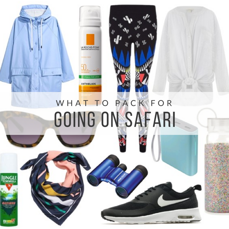 What to pack for going on safari
