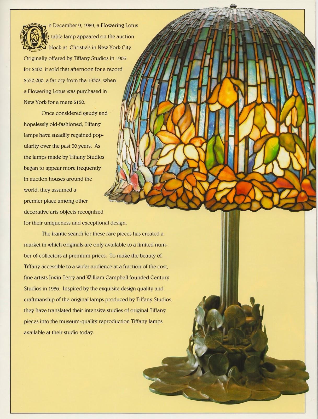 Lamp Of The Week 18 Flowering Lotus