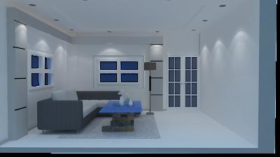 Konsep Desain Ruang Tamu Minimalis