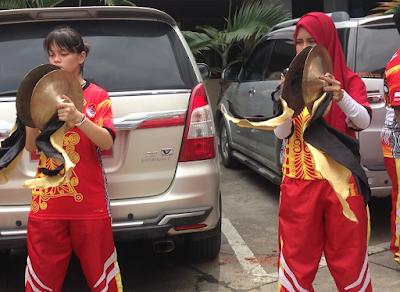 Atraksi Barongsai pada Perayaan Imlek di Kota Banda Aceh