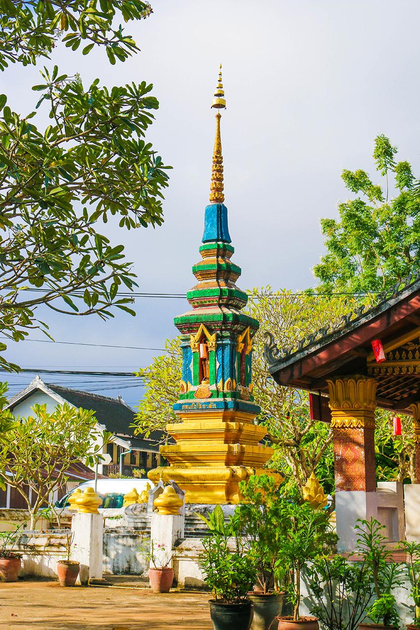 Welterbe Luang Prabang Tempel