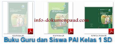 Download Buku Guru dan Siswa PAI Kelas 1 SD Edisi Revisi Terbaru