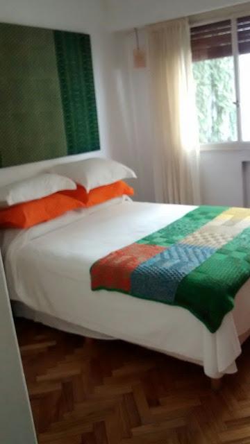 dos agujas pies varios tejidos - Mantas a dos agujas... ideal como manta o pie de cama