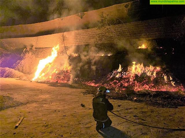 Conato de incendio este fin de semana en Los Llanos de Aridane