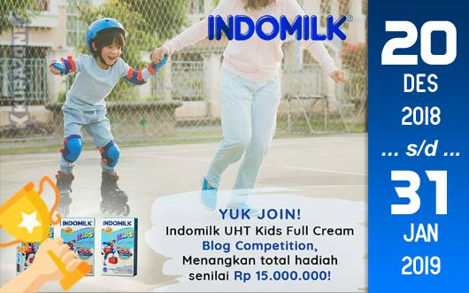 Kompetisi Blog - Indomilk (UHT) Kids Berhadiah Uang Tunai Jutaan Rupiah (31 Januari 2019)