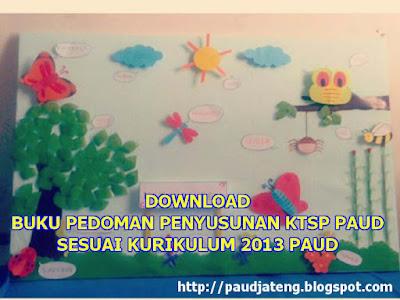 Download Buku Pedoman Penyusunan KTSP PAUD Kurikulum 2013 -