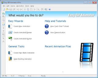 Easy GIF Animator *cara mudah membuat gambar/animasi bergerak dengan cepat*