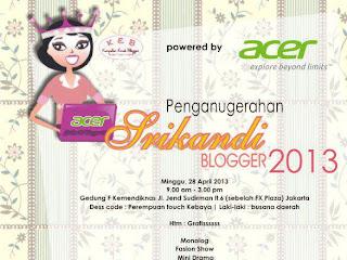 10 Finalis Srikandi Blogger 2013