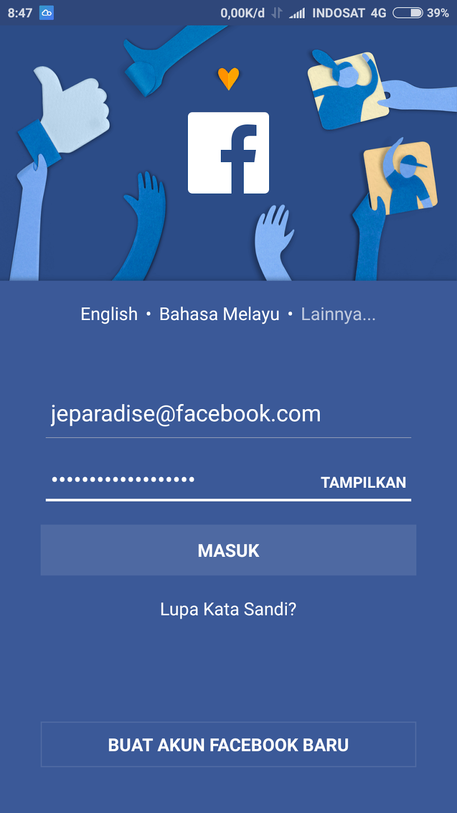 Download aplikasi facebook freezer untuk android