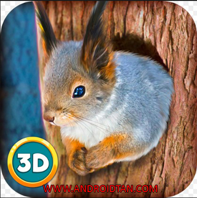 Download Forest Squirrel Simulator 3D Mod Apk v1.0 (Unlimited Money) Terbaru 2017