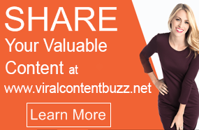 share Your Content On WWW.ViralContentBuzz.Net
