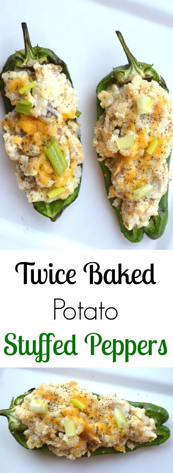 Twice Baked Potato Stuffed Peppers