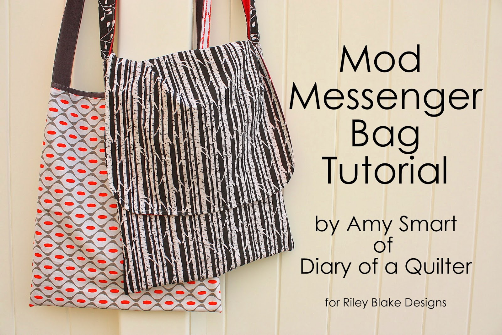 Easy mod messenger bag tutorial.
