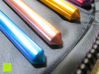 Griffe: LIHAO 22x Stricknadeln Häkelnadeln Alu Multifarben Nadelset mit Etui Knitting Needles Crochet Hooks Häkeln