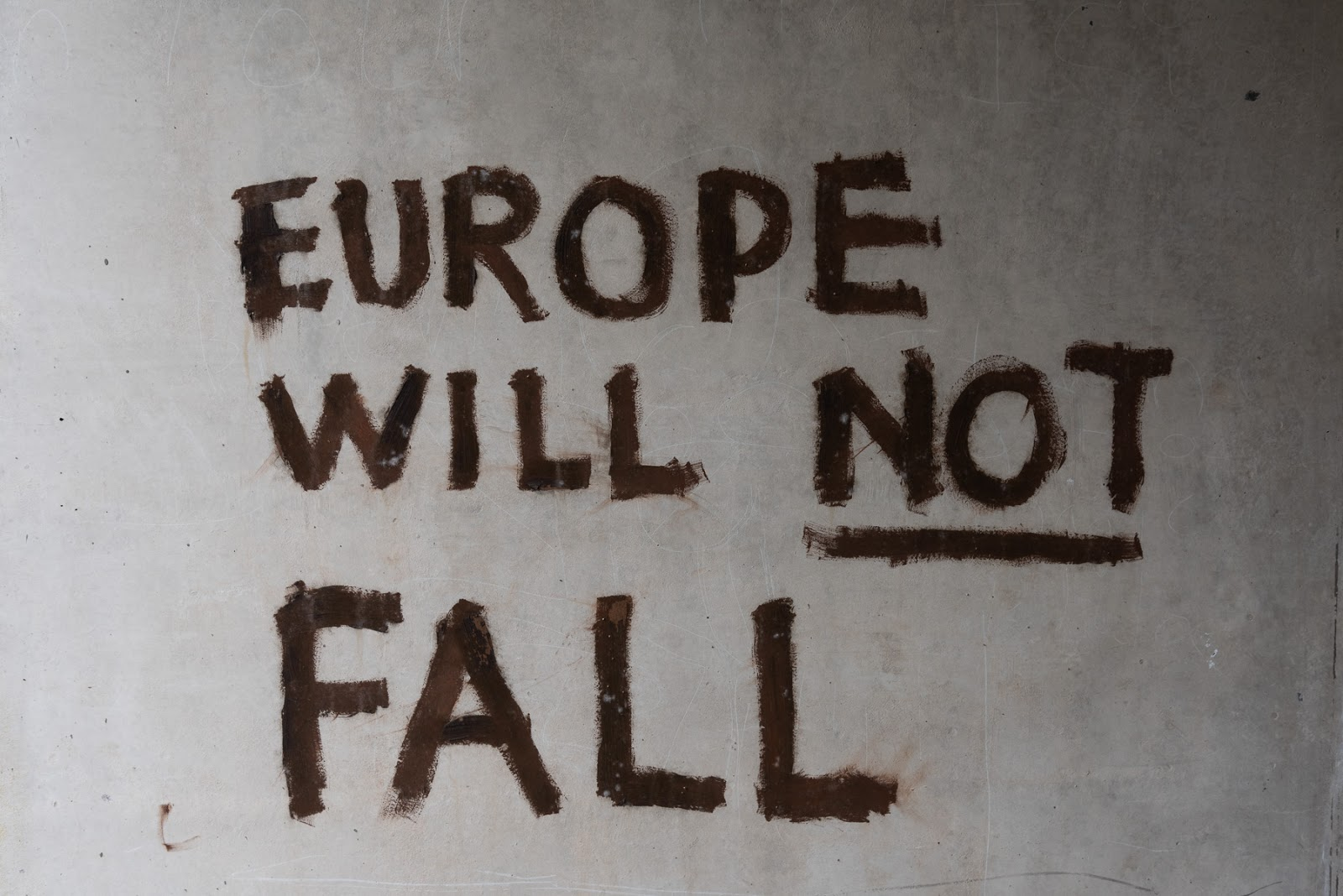 Graffiti - Europe will not fall
