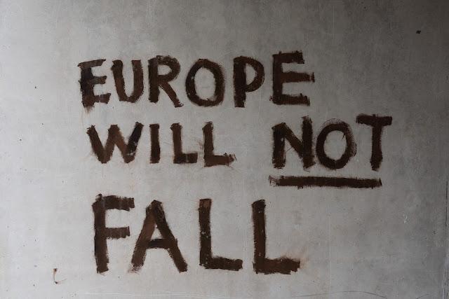 Graffiti - Europe will not fall