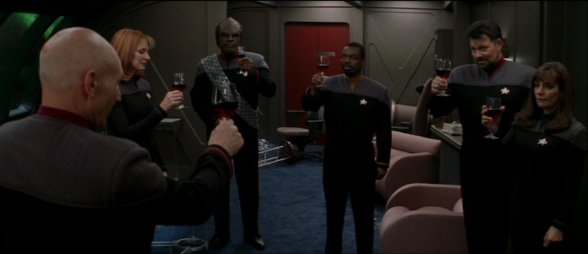 A Toast To Absent Friends Star Trek The Movies Nemesis