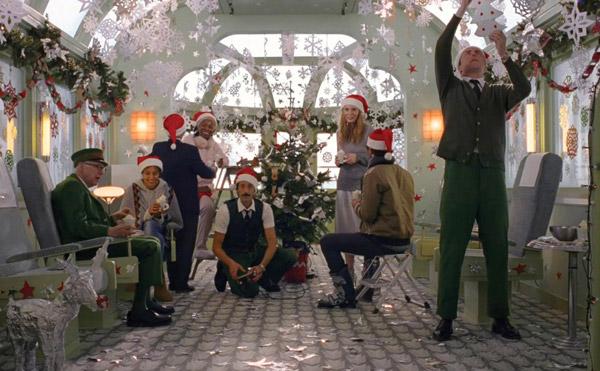 Campaña navideña de H&M con Adrien Brody Come Together Siempre Unidos