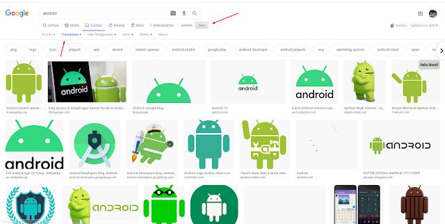 Cara Cepat Mencari Gambar Background Transparan di Google