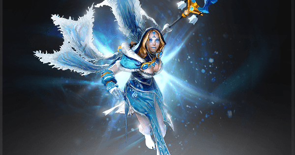Crystal Maiden Dota 2 Immortals: Crystal Maiden - Frost Avalanche