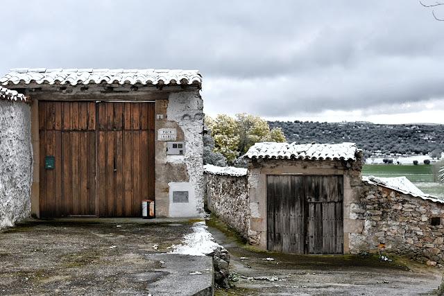 Juzbado, Salamanca, nieve