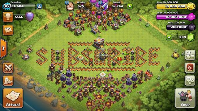 Akun Clash Of Clans Dengan Level Tertinggi Didunia